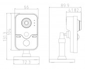 DS-2CD1410F-IW размеры