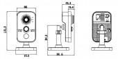 DS-2CD2432F-IW размеры