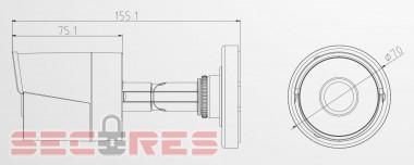 DS-2CD1002-I размеры