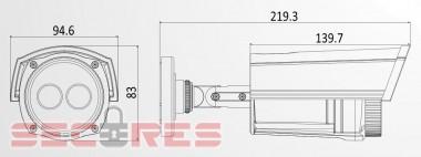 DS-2CD1202-I3 размеры