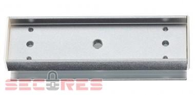 Уголок для установки магнитного замка на стеклянную дверь