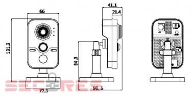 DS-2CD2432F-I размеры