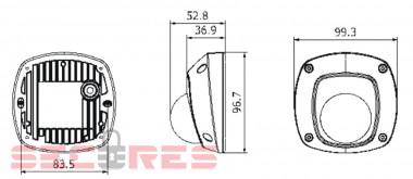 DS-2CD2532F-IWS габариты